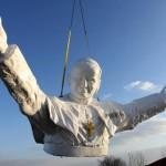 Крупнейший в мире памятник Иоанну Павлу II. Скоро открытие