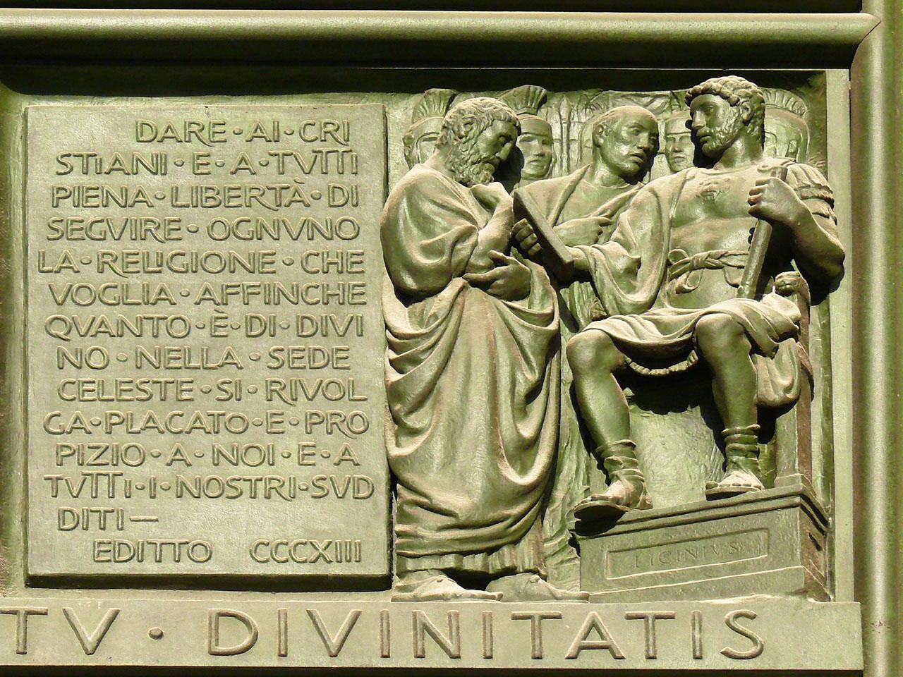 Миланский эдикт: государство и Церковь