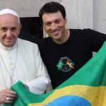 """Велопутешественник Леандро: """"Взять и встретиться с Папой Франциском!"""""""