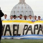 Футбольный матч между Италией и Аргентиной для Папы Франциска