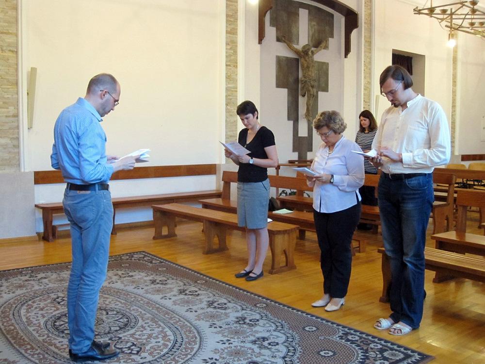 Пополнение в киевской семье доминиканцев-мирян