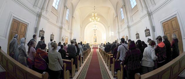Молитва о мире в Сирии в Санкт-Петербурге