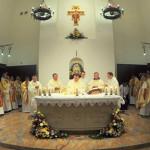 Освящение храма св. Антония Чудотворца и алтаря-реликвии в Петербурге