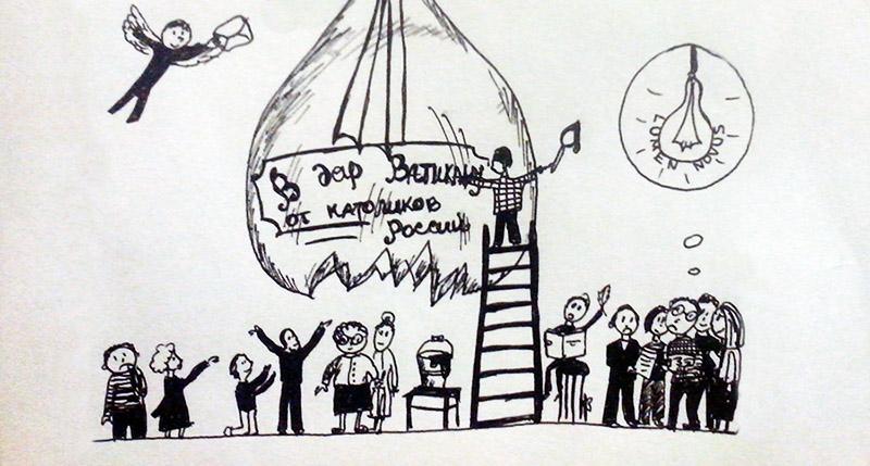Сколько нужно русских католиков, чтобы поменять лампочку?