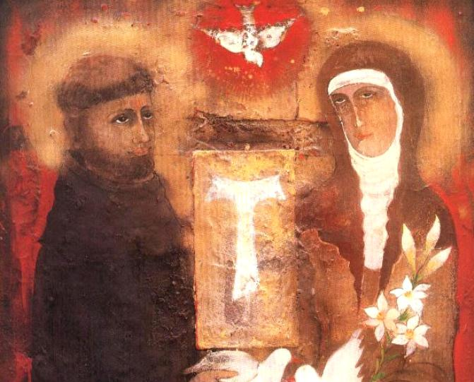 Лекция об актуальности духовности св. Франциска в Новосибирске
