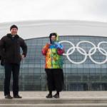 Священники на Олимпиаде в Сочи