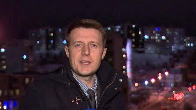 Отпевание погибшего журналиста Игоря Корнелюка