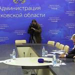 Апостольский нунций встретился с Администрацией Псковской области