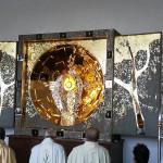 Алтарь, освященный Папой Бенедиктом XVI, установлен в национальном святилище Царицы Мира в с.Озерное (Казахстан)
