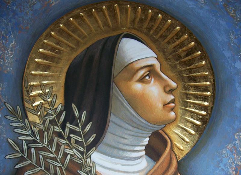 11 августа — св. Клара Ассизская