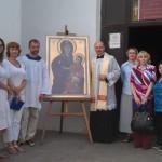 Крест и икона Всемирного Дня молодежи в Великом Новгороде