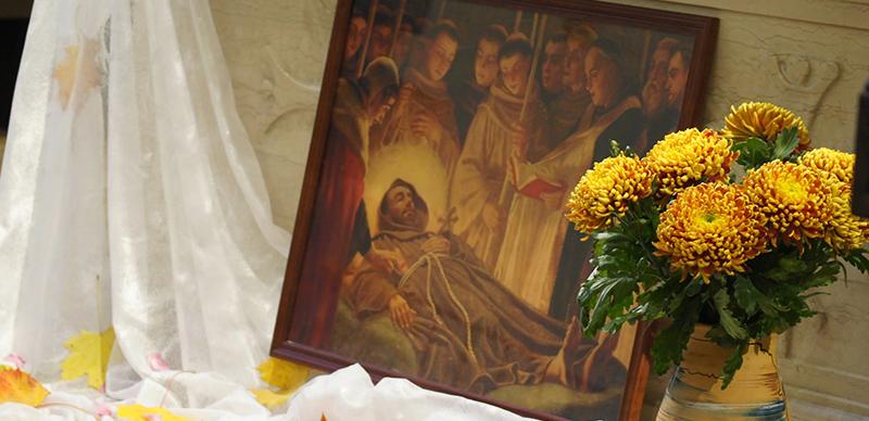 Как отпраздновали память св. Франциска в России