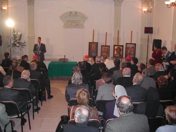 Торжественное открытие Культурного центра 19 ноября 2004 года.