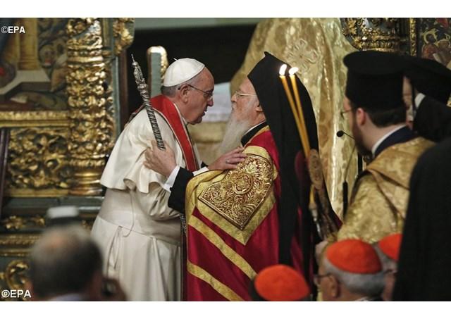 Как устроены совместные богослужения Папы и Патриарха