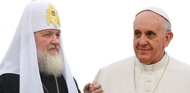 Папа Франциск о возможной встрече с Патриархом Кириллом: «У нас есть желание найти единство»