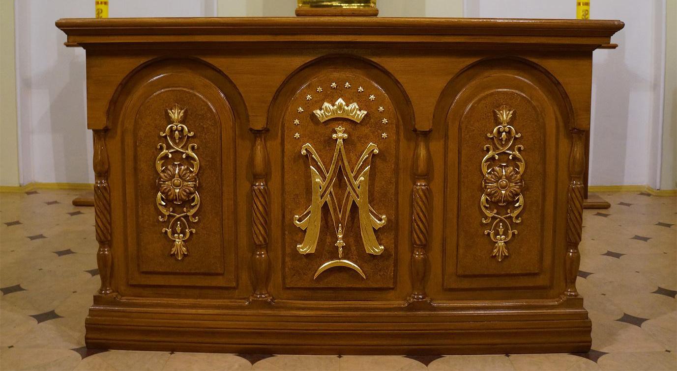 Новый алтарь в Новочеркасске