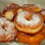 Творожные пончики для «жирного четверга»