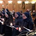 Встреча монахинь в Новосибирске