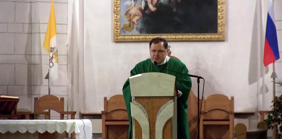 Месса об о. Луиджи Джуссани в Петербурге
