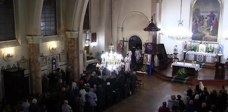 Престольный праздник прихода Лурдской Божией Матери в Петербурге
