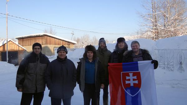 Салезианцы в Якутии (о. Мариан - третий справа)