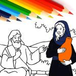 Христианские раскраски: Новый Завет