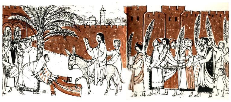 «Иисус принял решение»: проповедь на Вербное воскресенье