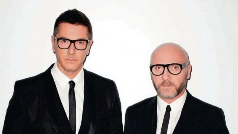 a biography of domenico dolce and stefano gabbana the italian fashion designers