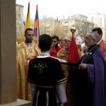 В Москве освящен памятник жертвам Армянского Геноцида