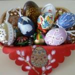 Выставка пасхальных яиц в Иркутске
