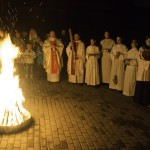 Навечерие Пасхи в Новосибирске