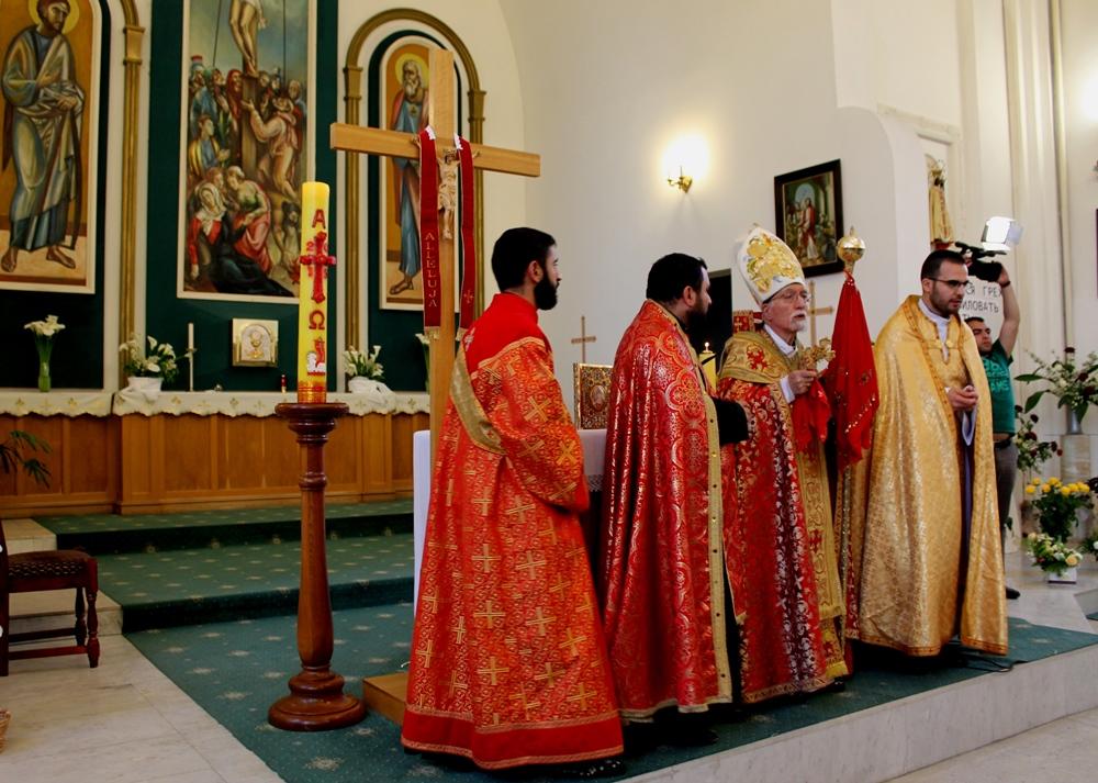 Сочинских армян-католиков посетил Патриарх Киликии Нерсес Бедрос XIX