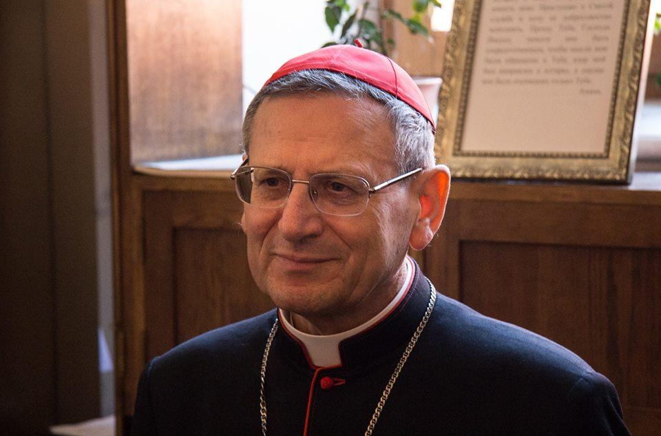 Проповедь кард. Анджело Амато на Мессе в память св. Григория Нарекаци в Москве