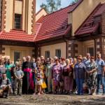 В поселке Краснозерское освятили новый храм