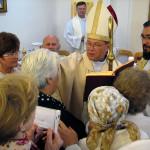 Архиепископ Павел Пецци освятил часовню в Полесске