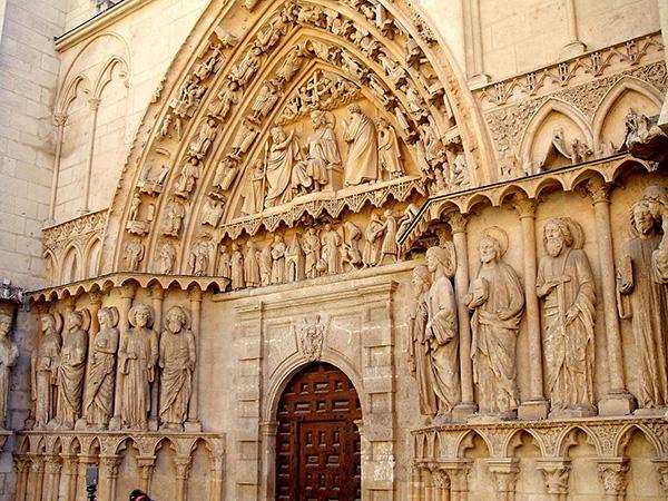 Портал Бургосского собора. Фото: commons.wikimedia.org