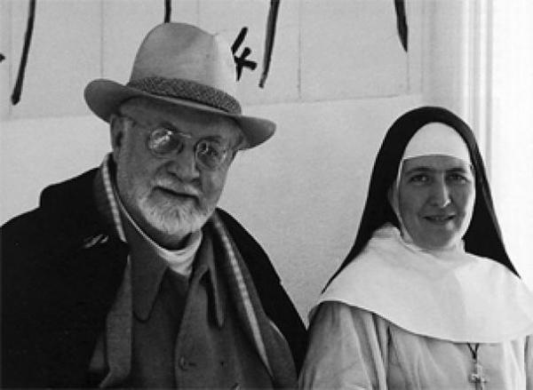 Матисс и сестра Жак-Мари. Фото: www.francemusique.fr