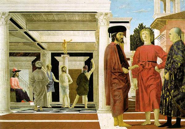 """Пиеро делла Франческа, """"Бичевание Христа"""""""