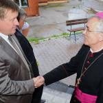Мэр города посетил Каритас Новосибирска