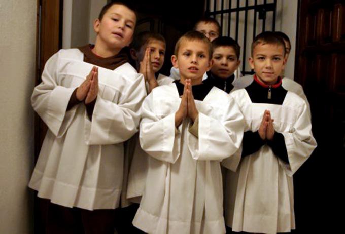 Молитвы для министрантов