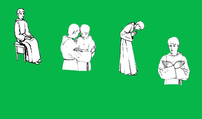 Литургические позы и жесты