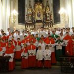 Состав причта для воскресных и праздничных Месс и действия отдельных министрантов
