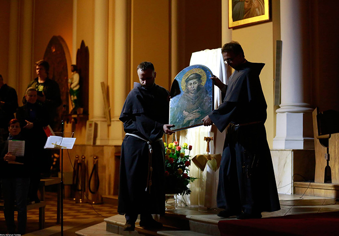 Праздник святого Франциска в Москве