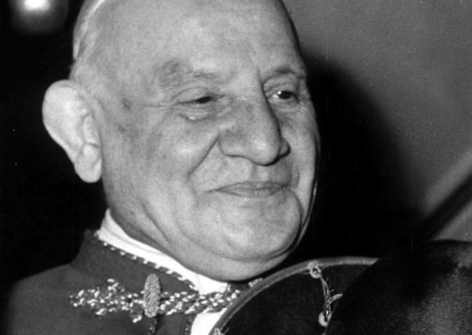 Цветочки Иоанна XXIII