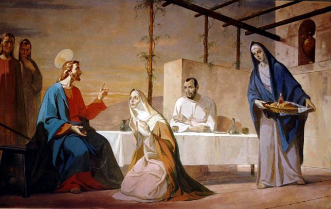 Марфа и Мария: противопоставление или единство?