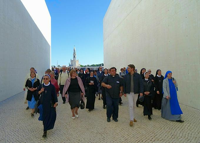 Завершилось паломничество монашествующих епархии св. Климента в Фатиму