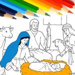 Христианские раскраски: Рождество