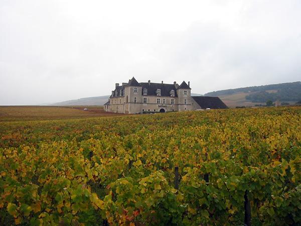 Замок Clos de Vougeot. Фото: en.wikipedia.org