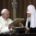 Совместное заявление Папы Франциска и Патриарха Кирилла