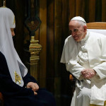 Папа приветствовал Патриарха Кирилла как брата